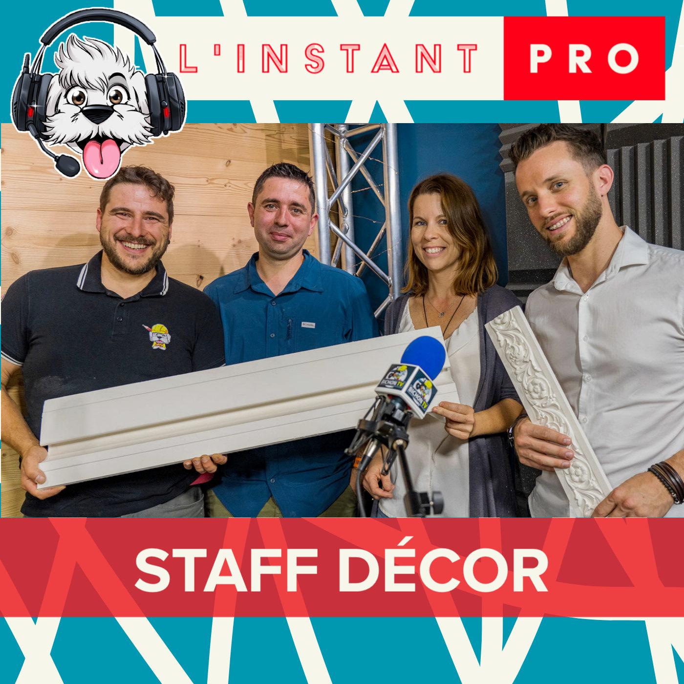Le STAFF et la décoration mural reviens en force avec STAFF DECOR - L'instant PRO de BichonTV