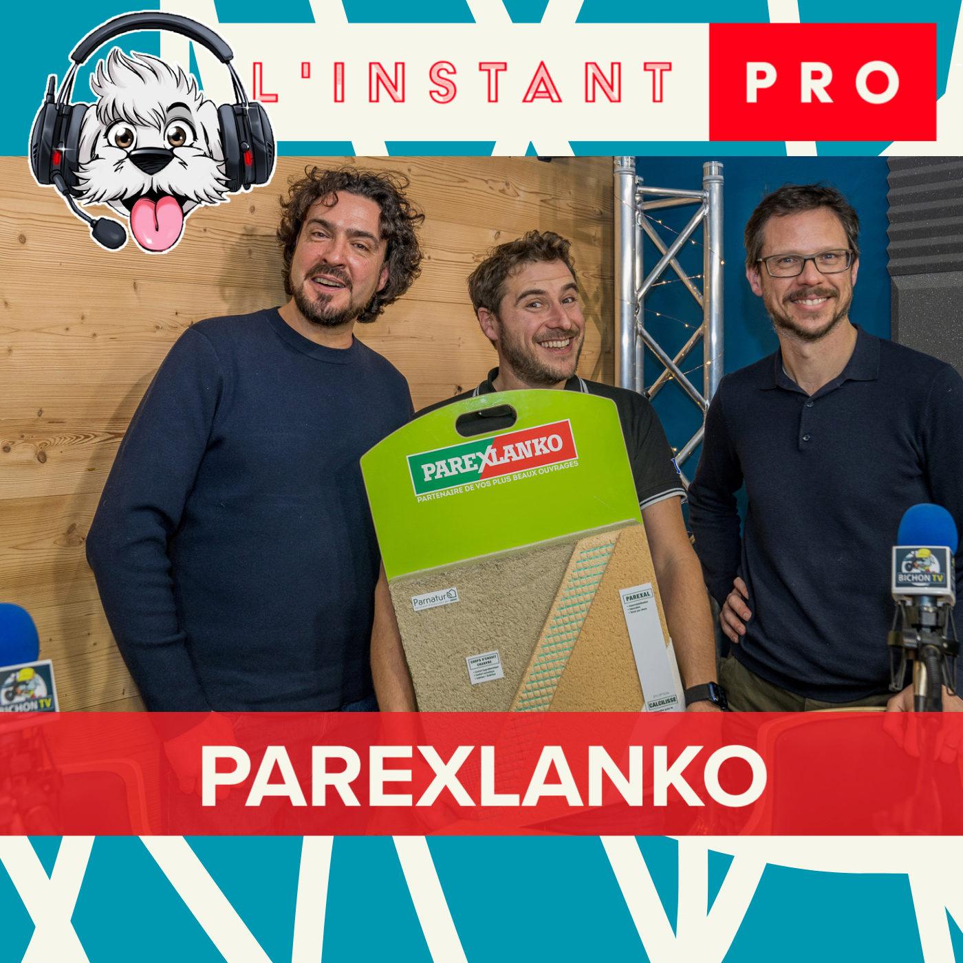 PARNATUR, l'enduit chanvre de PAREX LANKO. L'instant PRO de BichonTV