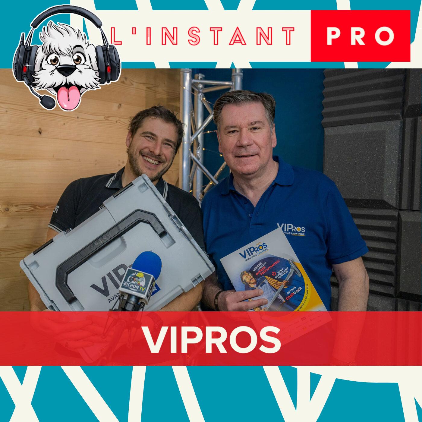 VIPROS Accompagne les artisans et récompense leur fidélité Gratuitement. L'instant PRO de BichonTV