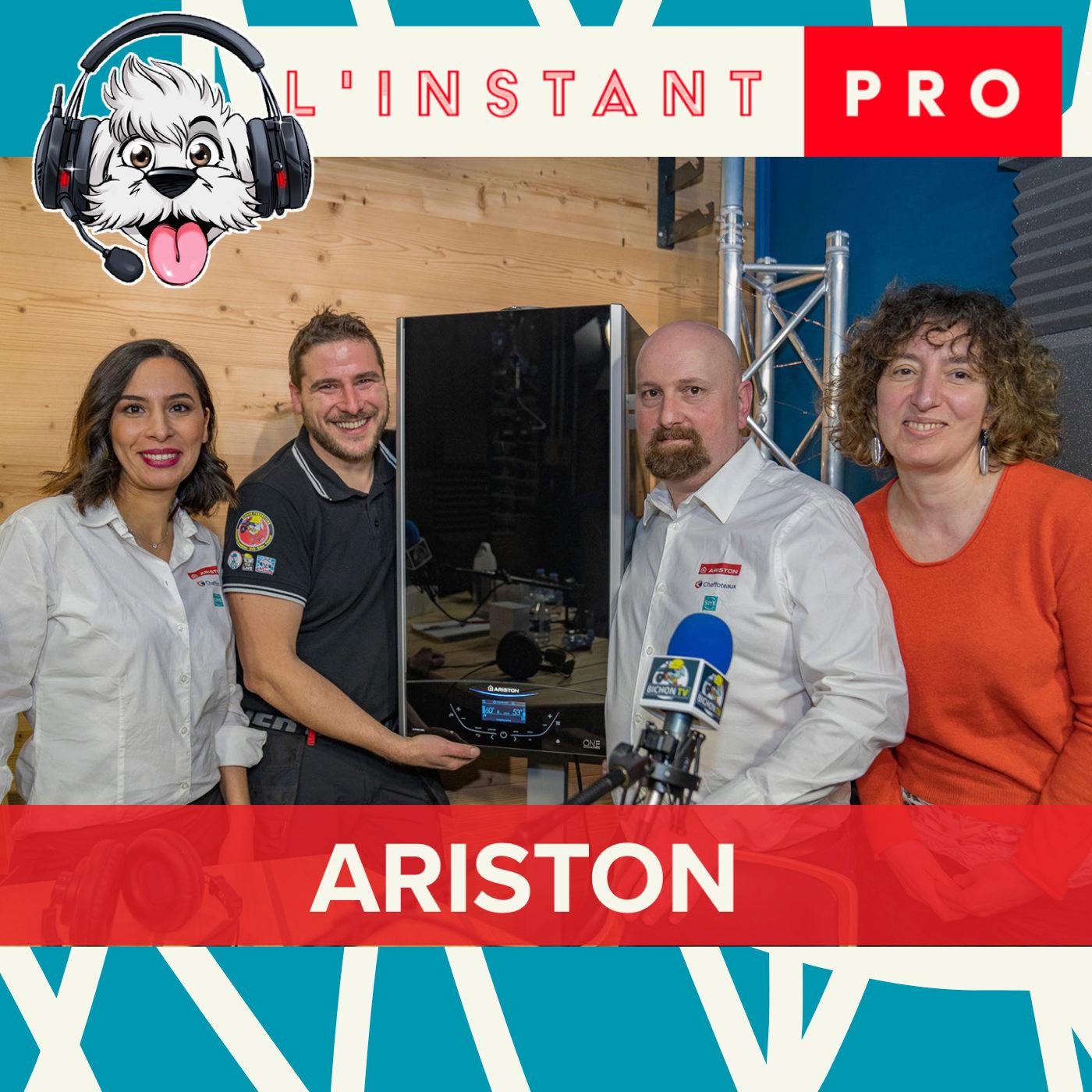 ARISTON lance une nouvelle chaudière gaz condensation premium et connecté. L'instant PRO de BichonTV