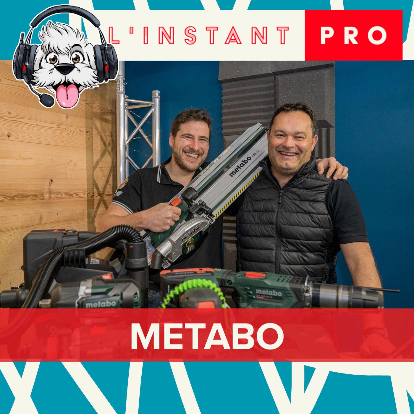 METABO, Encore des nouveaux outils pour 2021 ! L'instant PRO de BichonTV